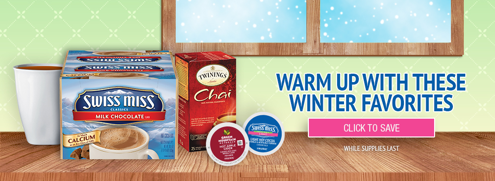 Warm Up with Winter Coffee Favorites
