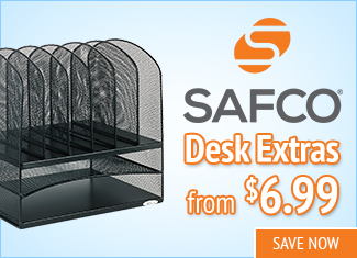 Save on Safco Desk Accessories