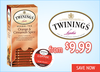 Save on Twining's Tea
