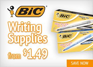 Save on Bic Writing Supplies