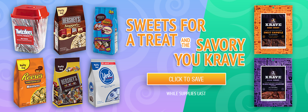 Save on Sweet and Savory Treats