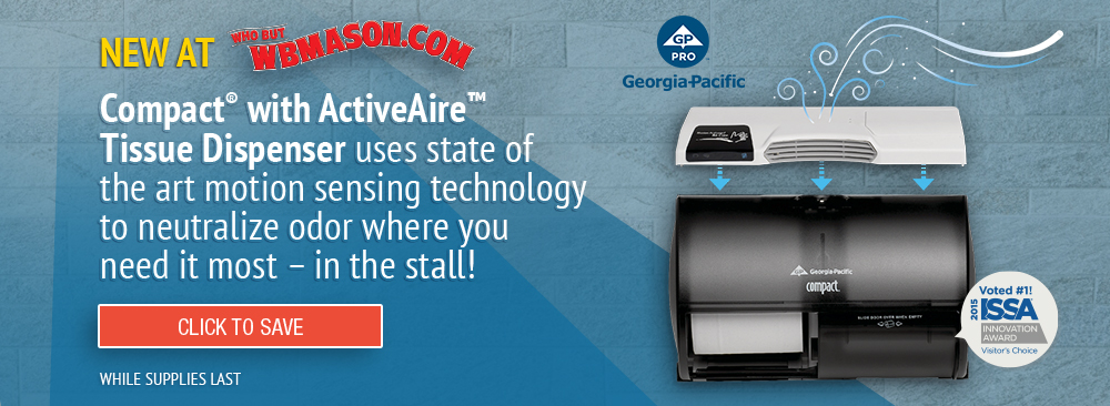 Save on Georgia-Pacific Compact with ActiveAire Tissue Dispenser