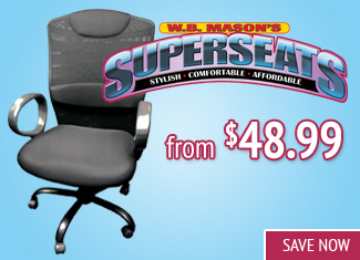 Shop W.B. Mason Superseats