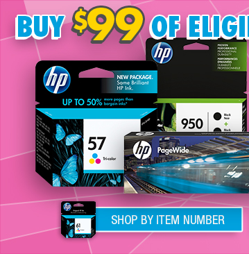 Shop HP Eligible Ink Card Offer By Item Number