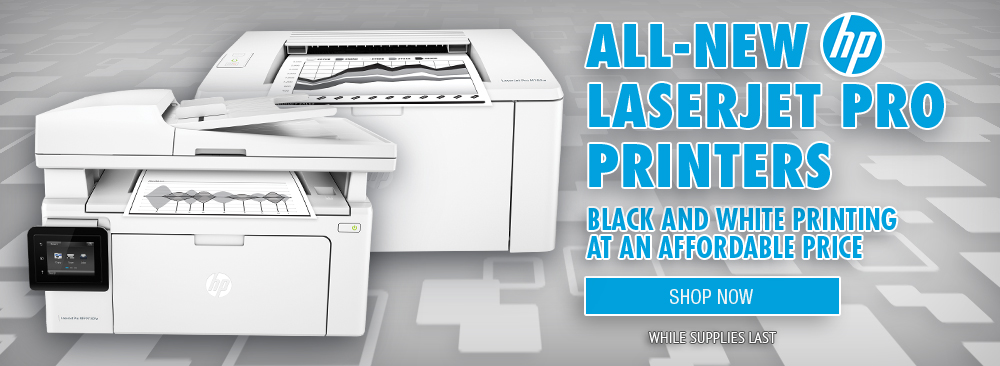Shop All New HP Laserjet Pro Printers