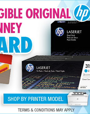Shop HP Eligible Toner Gift Card Offer By Printer Model