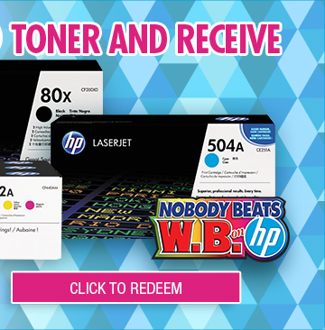 Redeem Eligible HP Toner Gift Card Offer