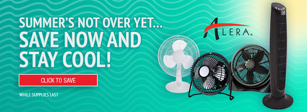Stay Cool with Alera Fans