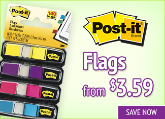 Save on Post-it Flags