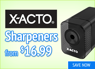 Save on X-Acto Sharpeers
