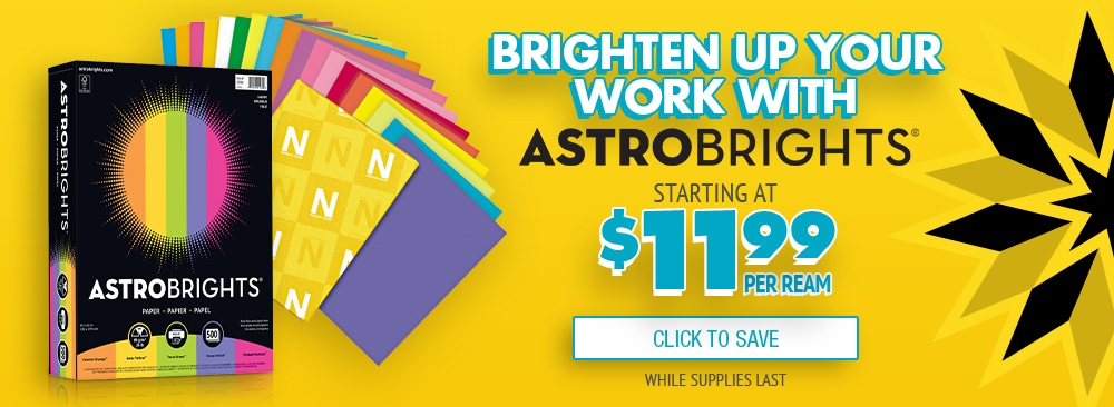 Save on Boise Astrobrights