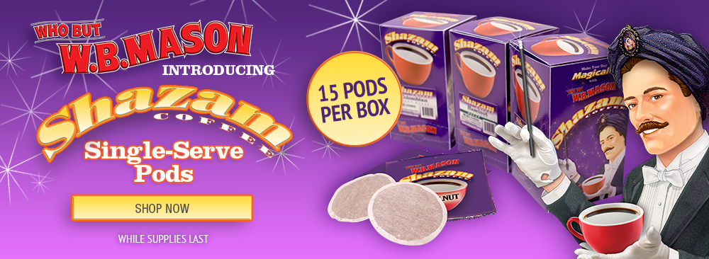 Introducing Shazam Single-Serve Pods