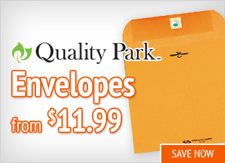 Save on Quality Park Envelopes