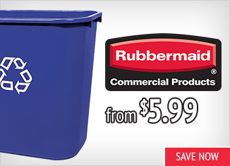 Save on Rubbermaid Products