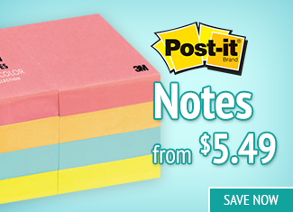 Save on Post-It Notes