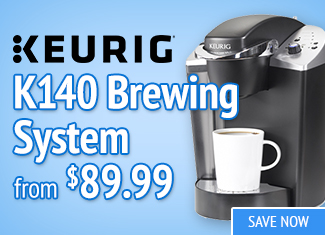 Save on Keurig K140 Brewing System