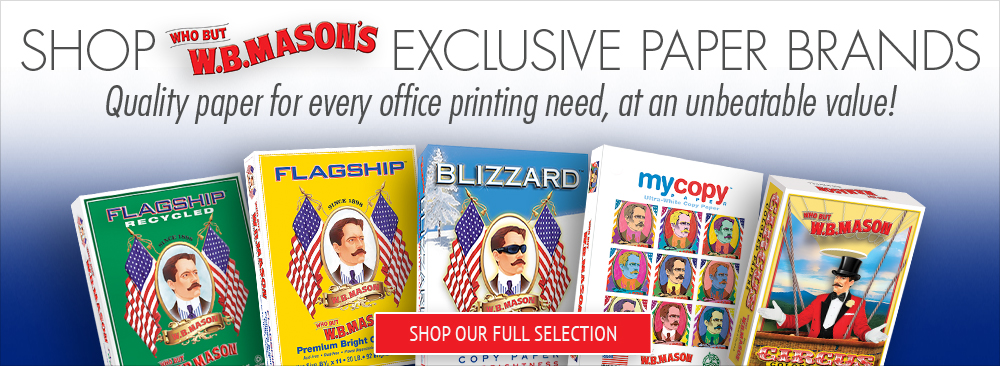 Shop W.B. Mason Exclusive Paper Brands