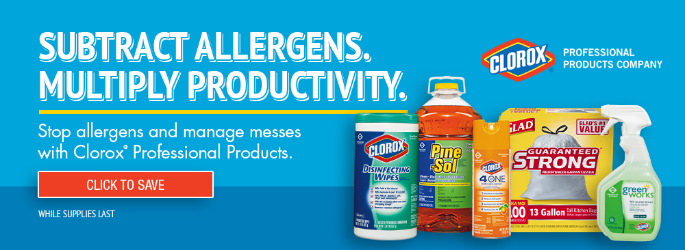 Save on Clorox Cleaning Products