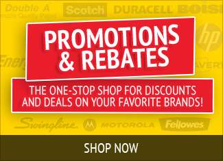 Browse out Promotions & Rebates