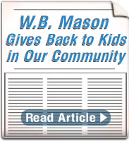 W.B. Mason Helps Kids!
