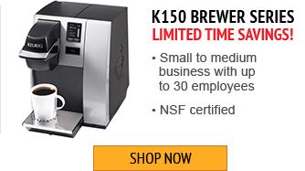 Save on Keurig K150 Brewer Series