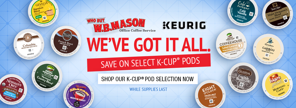 Save $1 on Select K-Cup Pods