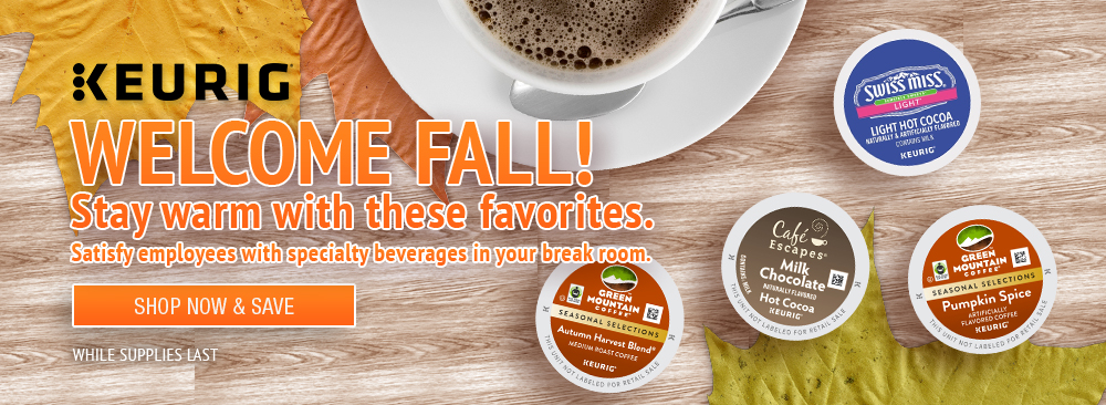Stay Warm with Keurig Fall Favorites