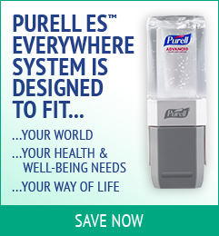 Save on Purell ES Everywhere System