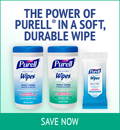 Save on Purell Wipes