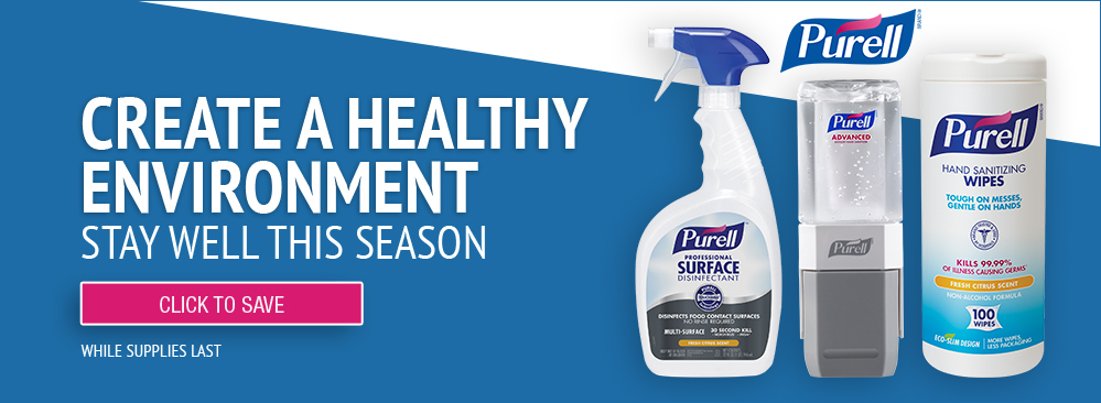Create a Healthy Environment with Purell