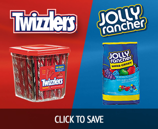 Save on Twizzlers and Jolly Ranchers