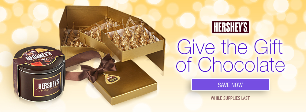 Gift the gift of Hershey's Chocolate
