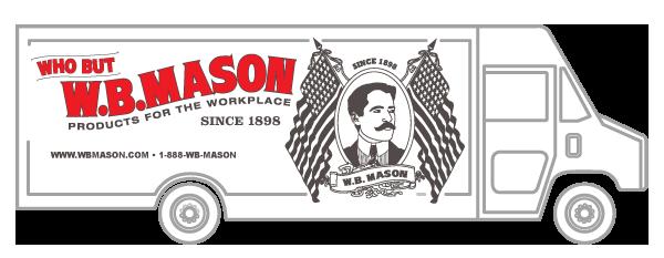 W.B. Mason Truck Image
