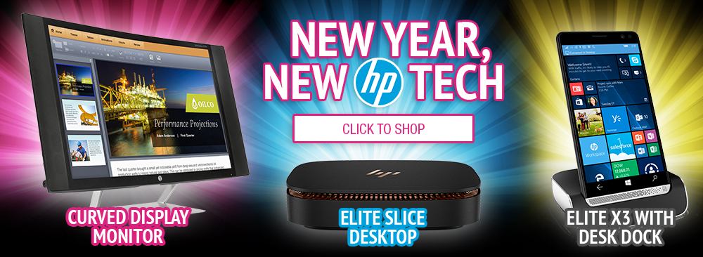 New Year New Tech from HP