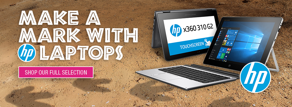 Make a Mark with HP Laptops