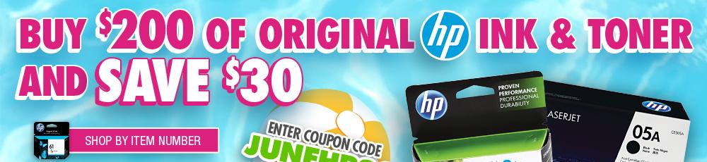 Shop HP Ink & Toner by Item Number