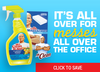 Save on Mr. Clean Products