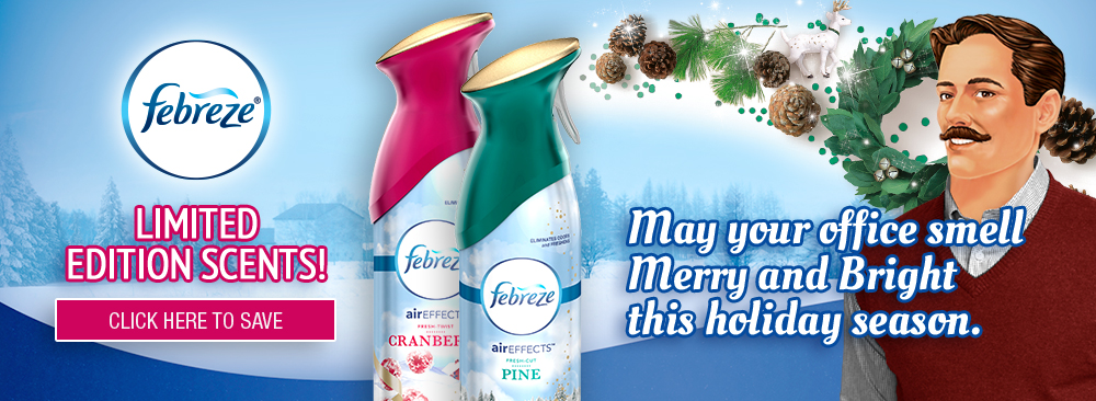 Limited Edition Febreze Scents Cranberry and Pine