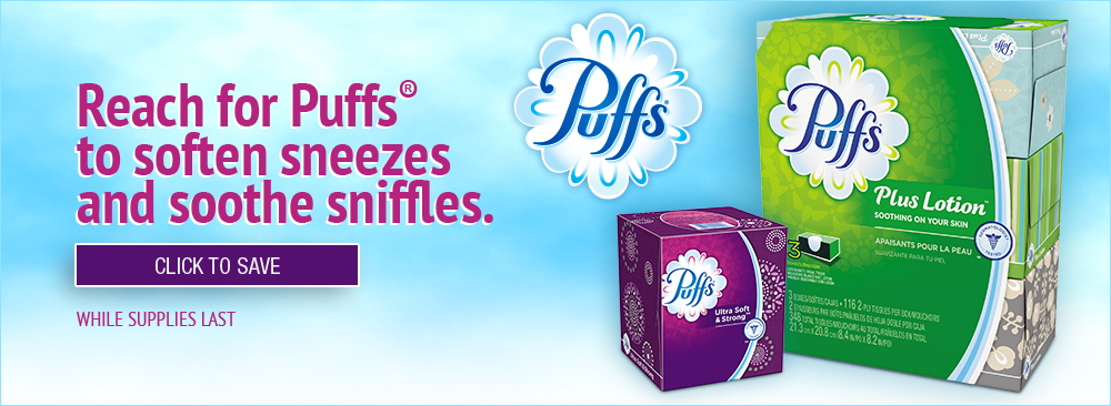 Reach for Puffs to Soften Sneezes