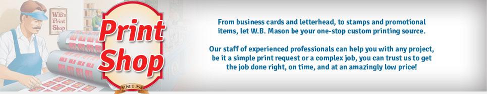 Print Shop Header Image