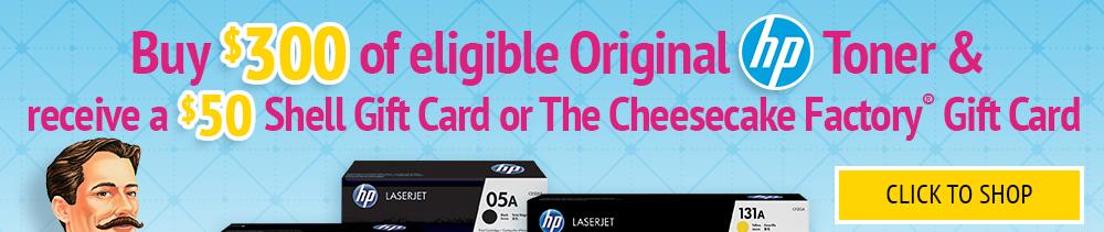 Click to Shop eligible HP Toner