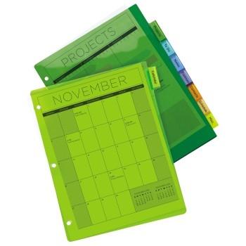 C-Line Binder Pocket W//Write-On Index Tabs 9 11//16 X 11 3//16 Assorted 5//set