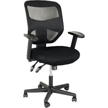 Superseats Director Mesh Mid Back Task Chair Mesh Back Padded Mesh Seat Black Wb Mason