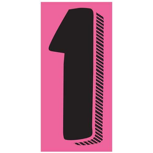 Window Sticker 1 7 1 2 Black Pink 12 Pk Wb Mason