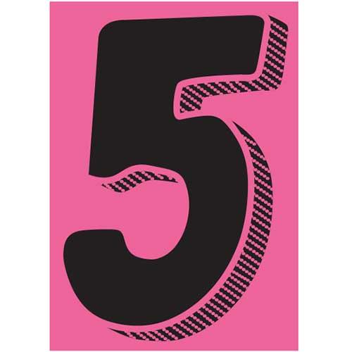 Window Sticker 5 7 1 2 Black Pink 12 Pk Wb Mason