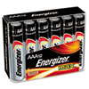 MAX Alkaline Batteries, AAA, 12/PK