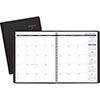 "Recycled Monthly Planner, 9"" x 11"", Black, 2021"