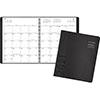 "Contemporary Monthly Planner, Premium Paper, 9"" x 11"", Graphite Cover, 2022"