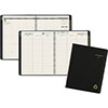 """Recycled Weekly/Monthly Classic Appointment Book, 8 1/4"""" x 10 7/8"""", Black, 2021"""