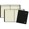 Recycled Academic Week/Month Classic Appt Book, 8-1/4 x 10-7/8, Black, 2021-2022